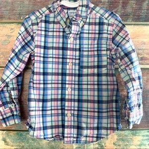 Boys Sz 2T Carter's Button Down Shirt 👔